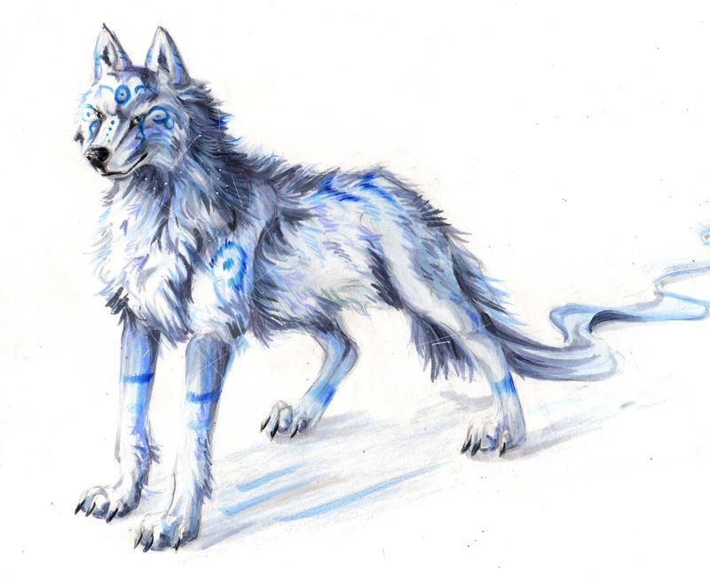 White Wolf- Adoptable by Lucky978