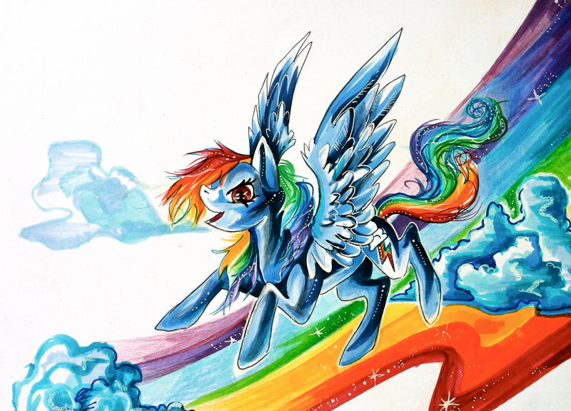 Rainbow Dash by Lucky978