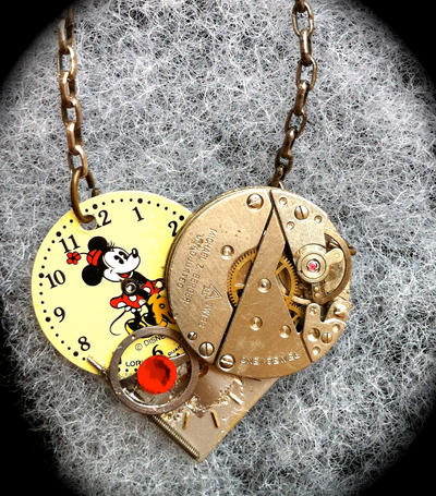 Minnie Mouse Steampunk Heart by Lucky978