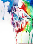Rainbow Wolf 2 by Lucky978