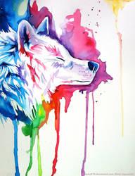 Rainbow Wolf 3 by Lucky978