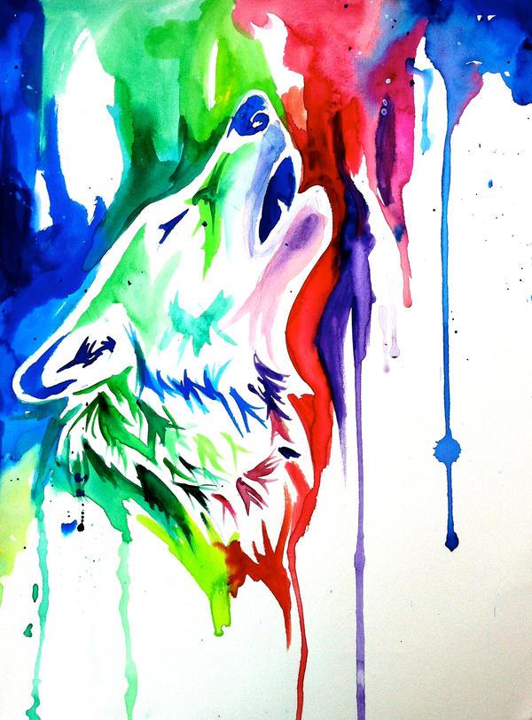 Rainbow Wolf 4 On Ebay By Lucky978 On Deviantart