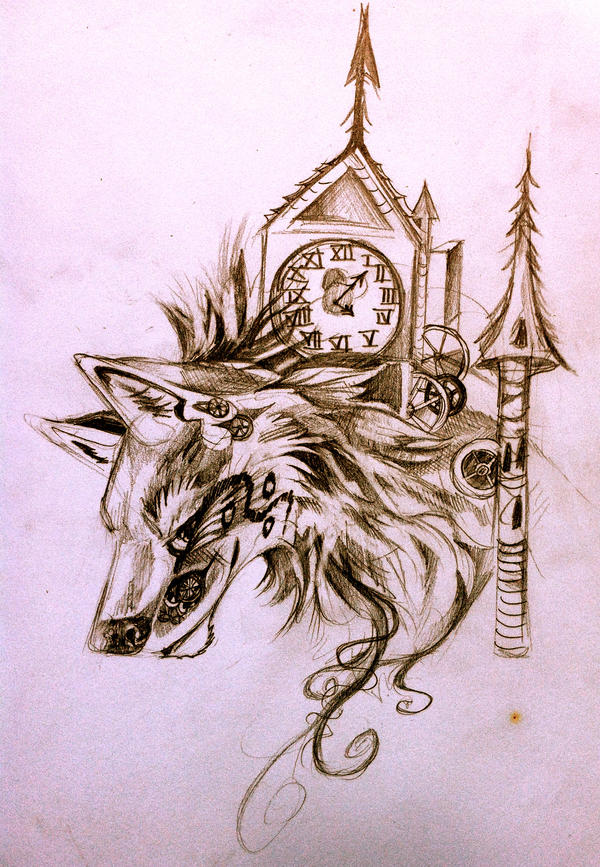 Steampunk Wolf by Lucky978