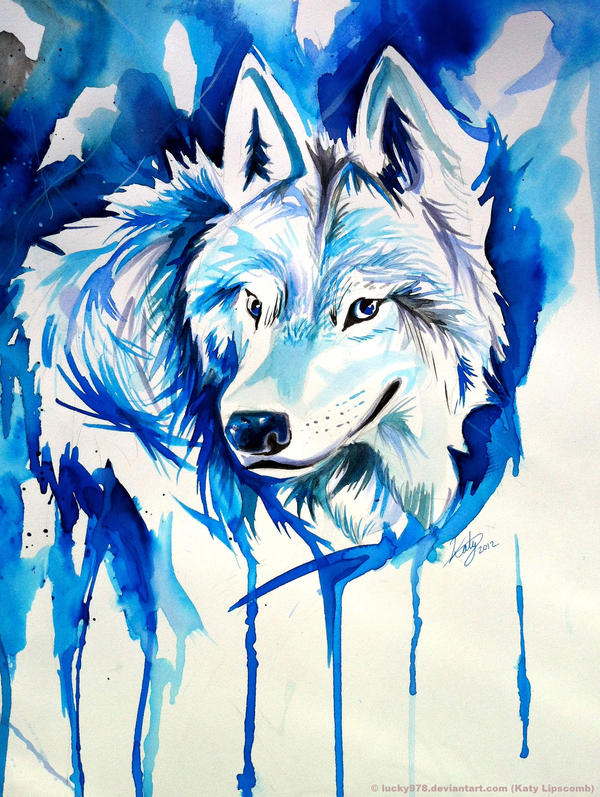 Ice Wolf by Lucky978 on DeviantArt