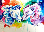 Two Rainbow Wolves- Holiday Giveaway