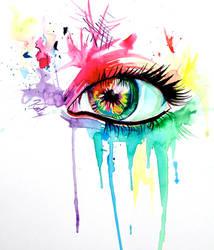 Rainbow Eye by Lucky978
