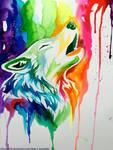 New Rainbow Wolf (On Ebay)