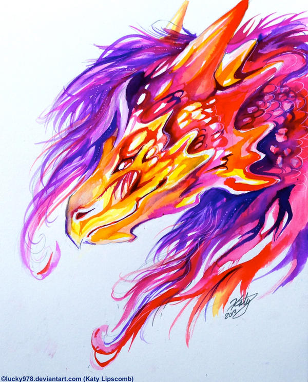 Sunset Dragon - Asian by Talonclawfange on DeviantArt |Dragons And Sunsets