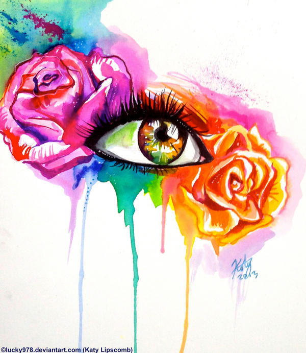 Rose Eye by Lucky978