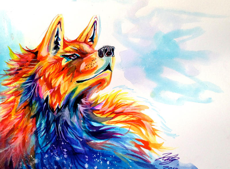 Cool Fire And Ice Wolf Pictures to Pin on Pinterest ...