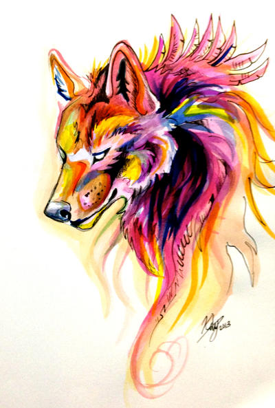 Wolf Flame by Lucky978 on DeviantArt