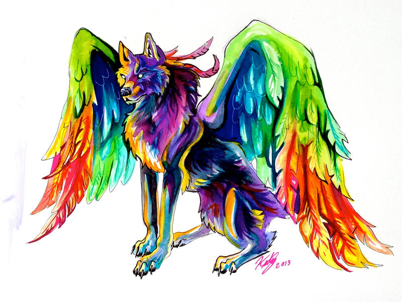 Lucky978 On Pinterest Wolves Deviantart And Rainbows