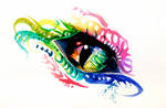 Rainbow Dragon Eye