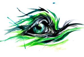 Fantasy Wolf Eye