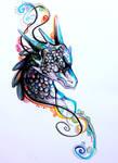 Swirly Dragon