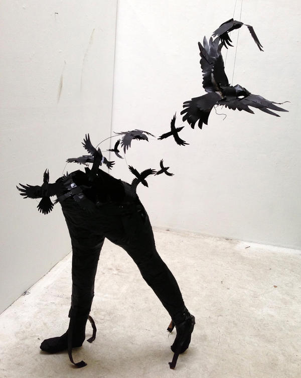 Fly Away Sculpture by Lucky978