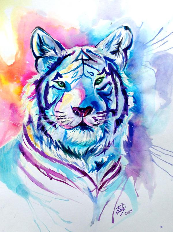Tiger Splash by Lucky978