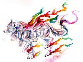 Rainbow Fire by Lucky978