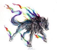 Black Rainbow Fire by Lucky978