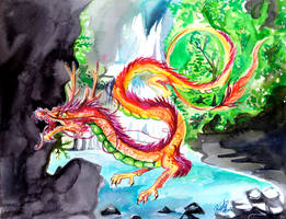 Chinese Dragon by Lucky978