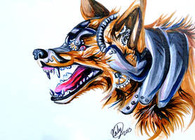 Mechanical Wolf by Lucky978