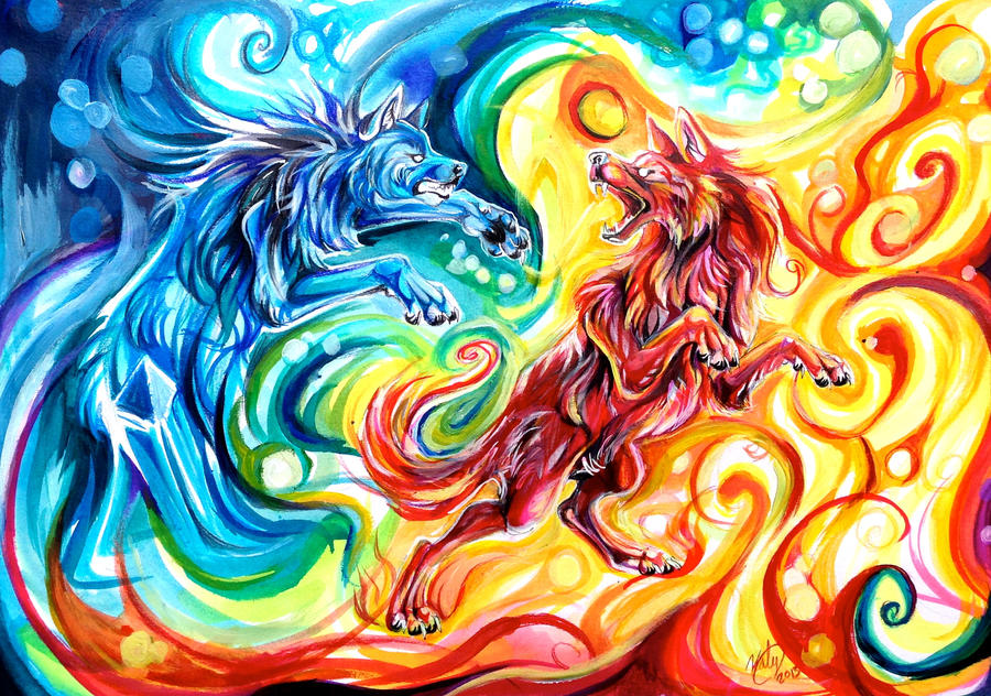 Fire and Ice by Lucky978
