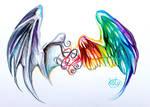 Wings Tattoo :D