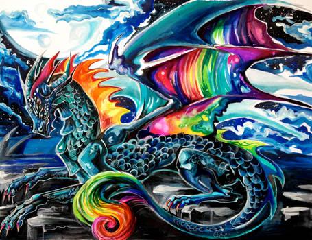 My Tie-Dye Dragon