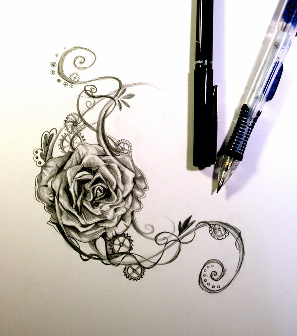 Rose design by lucky978 on deviantart for Lily rose designer