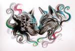 Jaguar and Wolf Design