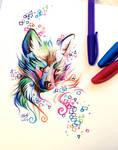 Fox Pen Design