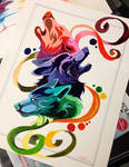Wolf Color Wheel