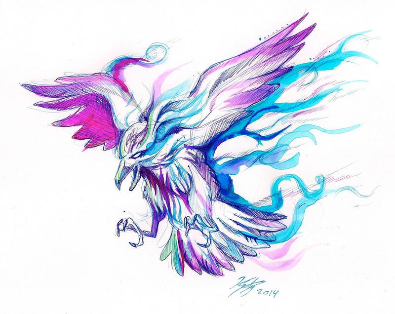 Fantasy Raven Design