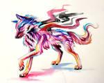 Phantom Wolf-Adoptable- Win original