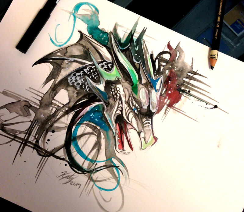 dragon design by lucky978 on deviantart