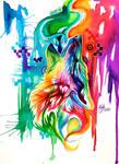 Rainbow Wolf Revamp -on Ebay-