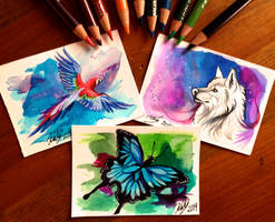 Mini Drawings by Lucky978