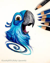 Blu Tattoo Design by Lucky978