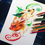 Flareon and Leafeon