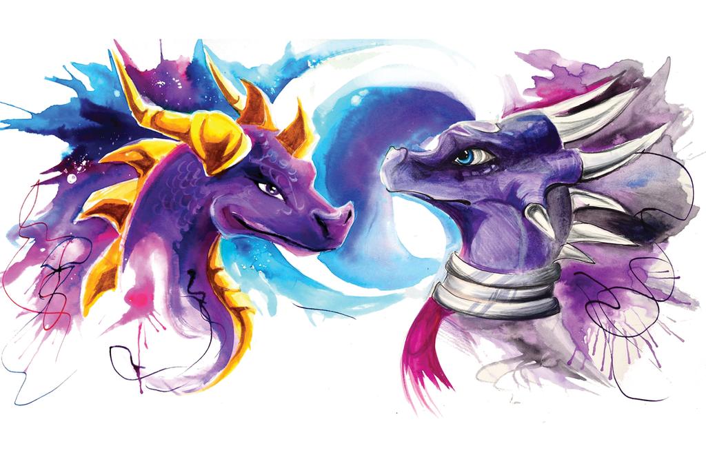 Cynder And Spyro Related Keywords & Suggestions - Cynder ...