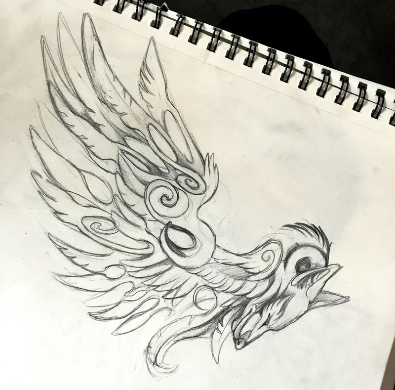 Fantasy Wing Design by Lucky978