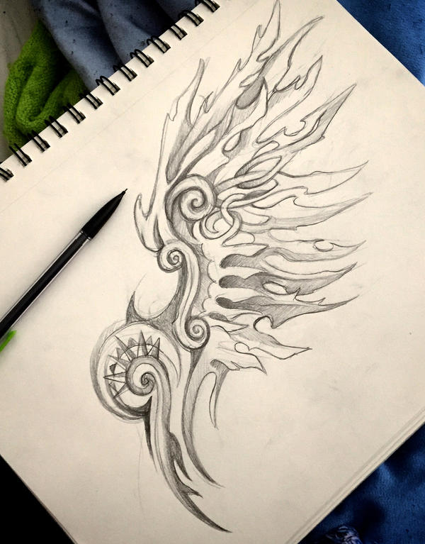 Fantasy Wing Design 3 by Lucky978