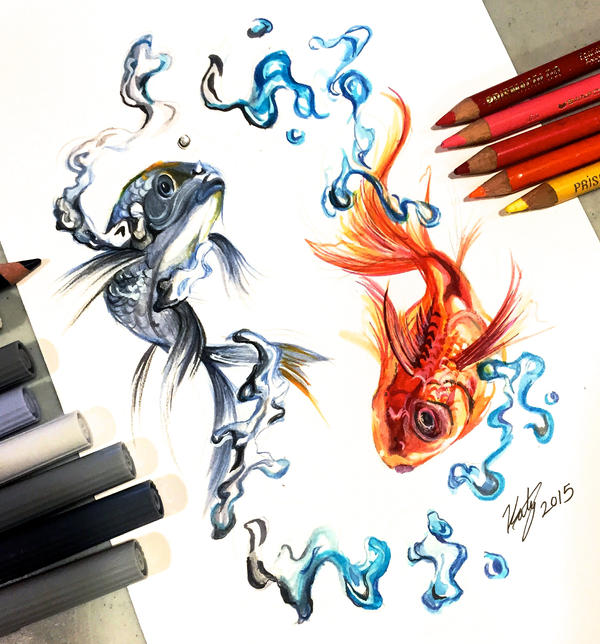 Day 2 balance by lucky978 on deviantart for Tattoo shops in katy