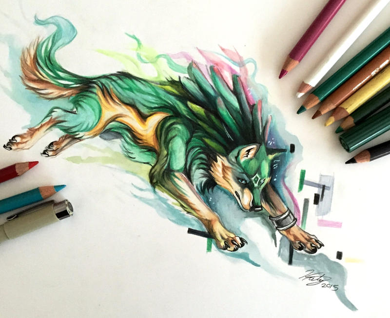 11- Wolf Link by Lucky978 on DeviantArt