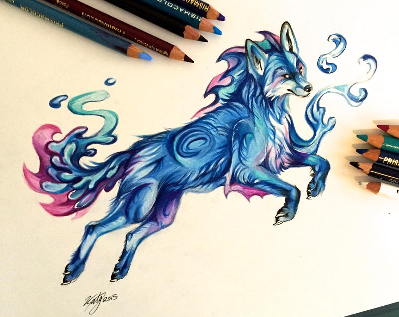 17- Water Fox by Lucky978