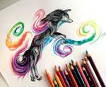 28- Black Rainbow Galaxy