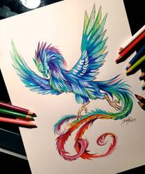 46- Dragon Phoenix by Lucky978