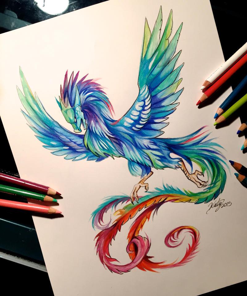 46 Dragon Phoenix By Lucky978 On DeviantArt