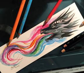 68- Dragon Bookmark