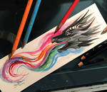 68- Dragon Bookmark